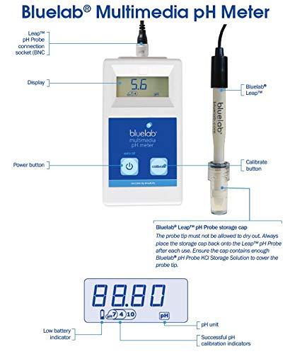 Bluelab BLU23510 Multimedia pH Meter, White by Bluelab (Image #5)