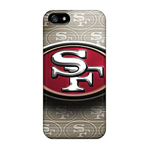 Tpu Casesmore166 Shockproof Scratcheproof San Francisco 49ers Hard Cases Covers For Iphone 5/5s Black Friday