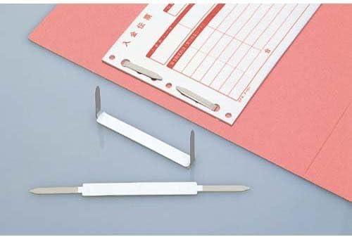[해외]코크 PO 강판 패스너 50mm 접착 도장 100 개입 / Kokuyo PO steel plate fastener 50mm adhesive seal with 100 pcs