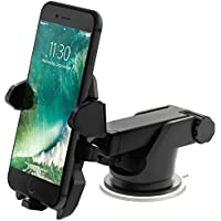 Universal 360 rotate Car Mount PHONE HOLDER strong,compatible,washable STYLISH LONG ARM Windshield/Dashboard MOUNT holder for iPhone 6/6s/6Plus 7/7/Plus, X 8/8s SE Samsung Galaxy S7/S6/S8 Plus S8