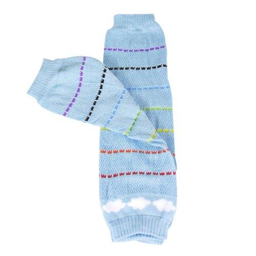 Bowbear Adorable Designs Baby Leg Warmers, Rainbow in the Sky