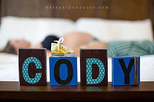 Girls Baby Name Blocks - 3
