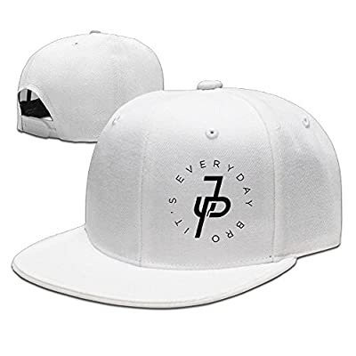 LiwnzhenSH Cotton Jake Paul It's Every Day Unisex Flat Brim Baseball Hat