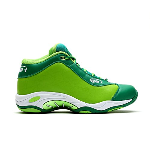 AND1 Herren Tai Chi Basketballschuh Grün