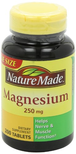031604017187 - Nature Made Magnesium 250mg, 200 Tablets carousel main 4