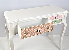 Escritorio mesa de trabajo en estilo de la alquería vintage Shabby ...