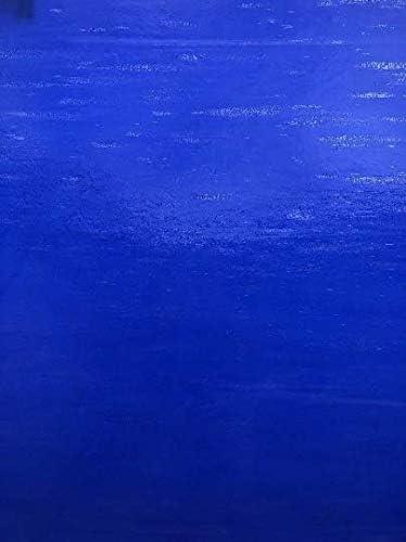 Vitrail opalume bleu foncé feuille de Kokomo