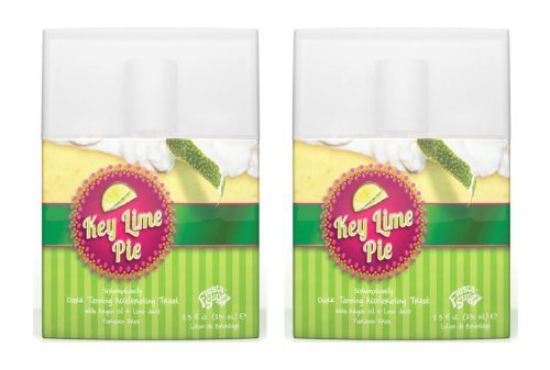 Lot 2 Fiesta Sun Key Lime Pie Dark Tanning Accelerating Lotion Maximizer Tan Bed