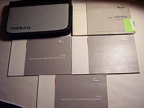 2008 nissan versa owners manual nissan amazon com books rh amazon com Shop Manual Nissan Versa 2013 Nissan Versa Sedan Manual