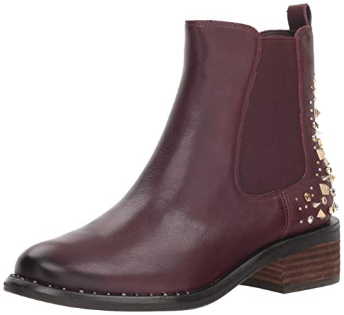 - Sam Edelman Women's Dover Chelsea Boot, deep Burgundy Leather, 9 M US