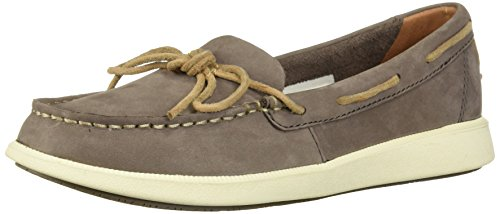 SPERRY Women's Oasis Canal Boat Shoe, Graphite, 8