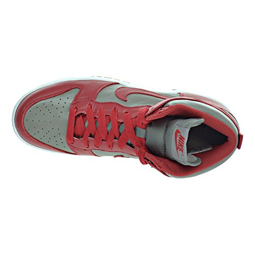 Hi Shoes Nike Sneakers Red Retro 850477 Soft Trainers Top University Grey QS mens Dunk xAIwqAg