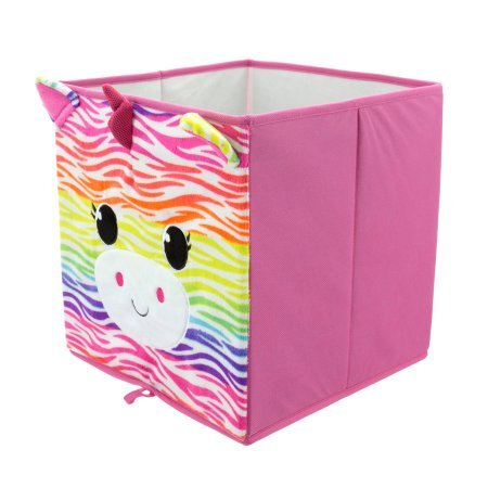 Mainstays Collapsible Storage Bin, Rainbow Unicorn by Generic