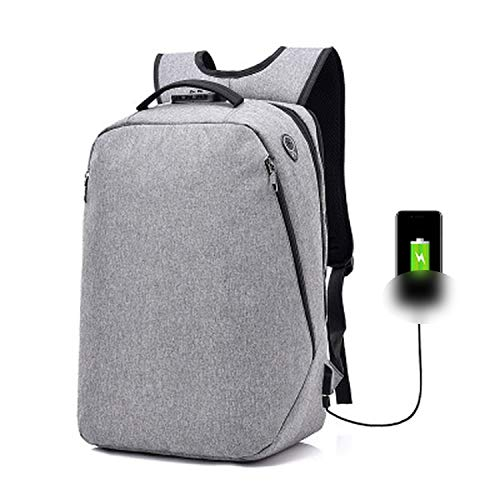 15.6'' Laptop Backpack Anti-thief School Bookbag Large Capacity Travel Daypack for Uinsex With USB Charging Port Design,light (Mossimo Kids Jeans)