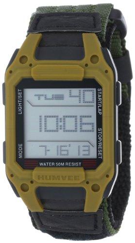 HUMVEE HMV-W-RCN-OD Digital Recon Watch with Olive Nylon Strap (Humvee Watch)