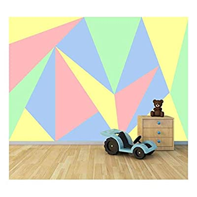 Bright Candy Color Collage - Large Wall Mural, Removable Peel and Stick Wallpaper, Home Decor - 66x96 inches