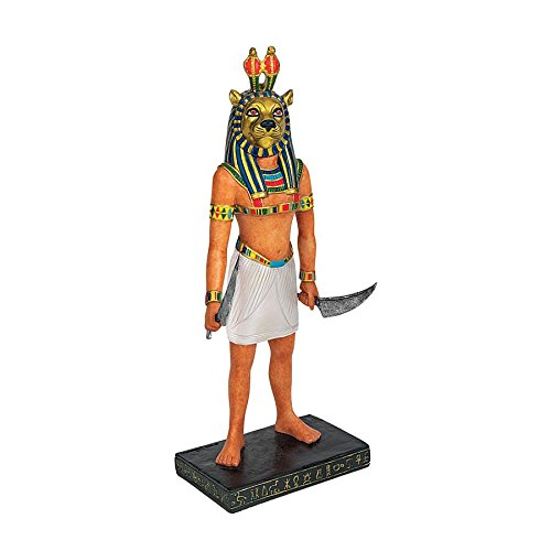 (Design Toscano Ancient Egyptian Gods Statue Collection: Sekhmet)