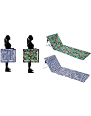 Outdoor Portable Folding Chair Beach Mat Ultra Light Fishing Sun Lounger Carry Strap Hotel/Vacation/Holidays/Sunbathing