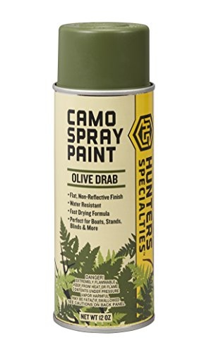 Nets Head Olive Drab (Hunters Specialties Spray Paint (Olive Drab))
