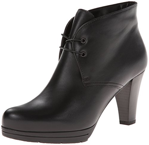 La Canadienne Womens Madison Botte Cuir Noir