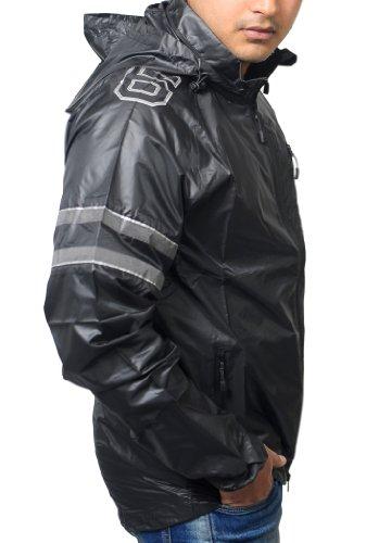 Nike NSW Opvouwbare Firefly formation capuche waterafstotend Black Jacket