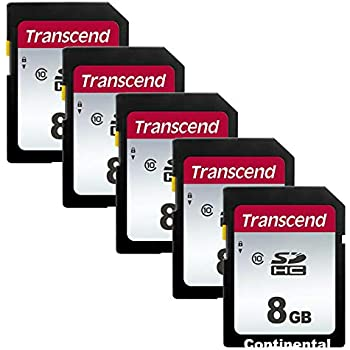 Amazon.com: Transcend clase 10 tarjeta de memoria flash SDHC ...
