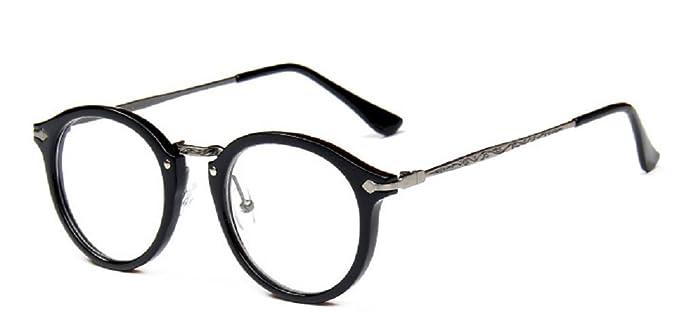 1eb0ade577bb0 mbryform Retro lunettes rondes frame hommes miroir plaine et les femmes  visage religieux sauvages 9580 Monture