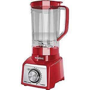 Liquidificador Mondial Com Filtro 1000W 12 Velocidades L-1000R Vermelho - 127V