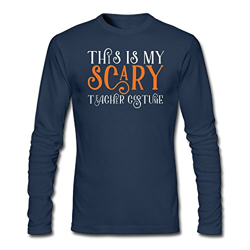 Men's This is My Scary Teacher Costume Long Sleeve (Occupation Costumes Ideas)