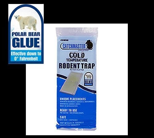 Catchmaster 48wrg Cold Temperature Glue Board Traps ( Case of 48) Rat Glue Trays''