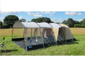 K&a Croyde 6 Classic Polycotton Tent  sc 1 st  Amazon UK & Kampa Croyde 6 Classic Polycotton Tent: Amazon.co.uk: Garden ...