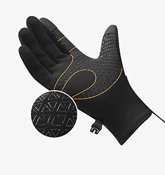 2pcs Ski Winter Windproof Waterproof Thermal Neoprene Gloves Sports Screen CA
