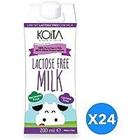 Koita Lactose Free Non Hormone Liquid Milk - 24 x 200 ml