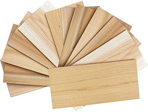 Piastre in legno di cedro per griglia 12 Pack Cedar Grilling Planks Confezione da 12