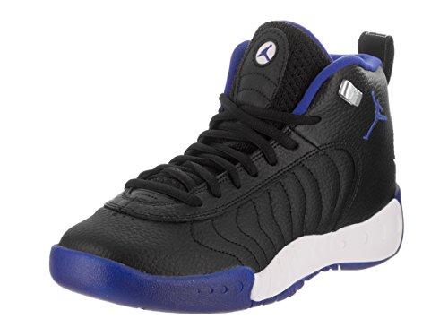 Image of Jordan Kids Jumpman PRO BG Shoes Black Varsity Royal Silver Size 4.5