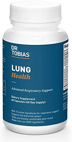 Dr. Tobias Lung Health Supplement, 60 Capsules 1