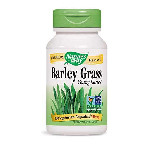 (Nature's Way Barley Grass, 100 Capsules (Pack of 2))