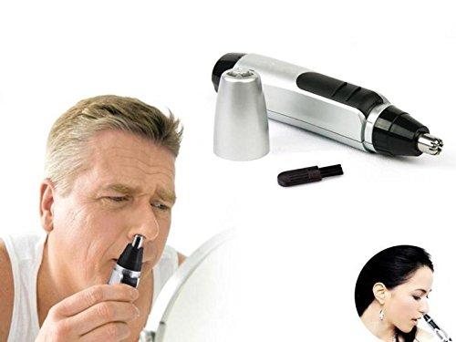 Lecktra® - Nasenhaartrimmer für Herren - Nasenhaarschneider - Nasentrimmer - Nasenhaarentferner - Nasenhaar entfernen - Nasenhaarschneider - Gesichtshaartrimmer - Trimmer, Scherer & Körperhaartrimmer