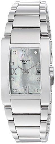 (Tissot Women's T0073091111600 T-Trend Stainless Steel Bracelet Watch)