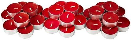 Ikea Sinnlig Bougie parfumée, Sweet Baies Rouge Bougies Lot de 30