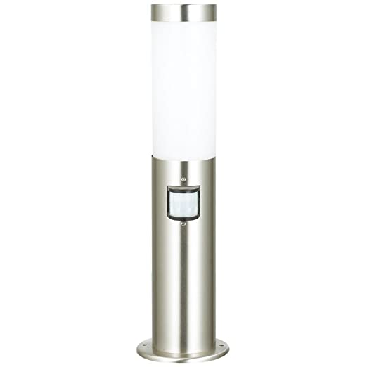 modern outdoor garden floor light with 120 degree motion sensor