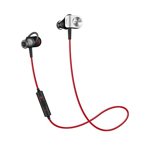 Cheap Meizu Bluetooth Sport Wireless Headphones HIFI, Stereo Magnetic Earphones/Earbuds with Built-in Mic