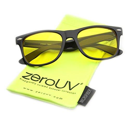zeroUV Blocking Driving Rimmed Sunglasses