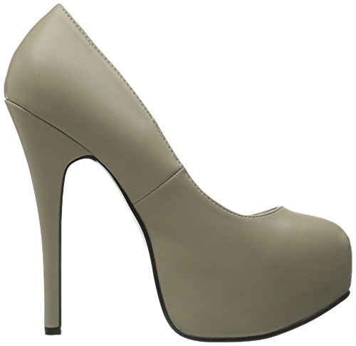 Bordello by Pleaser High Heels Pumps TEEZE-06 Creme Kunstleder, Größe F:8 US / 38