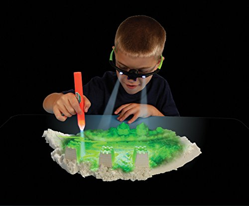 Play Sand Glow Mold Set 13pcs Use With Kinetic Sand