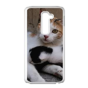 Cat Family Hight Quality Plastic Case for LG G2