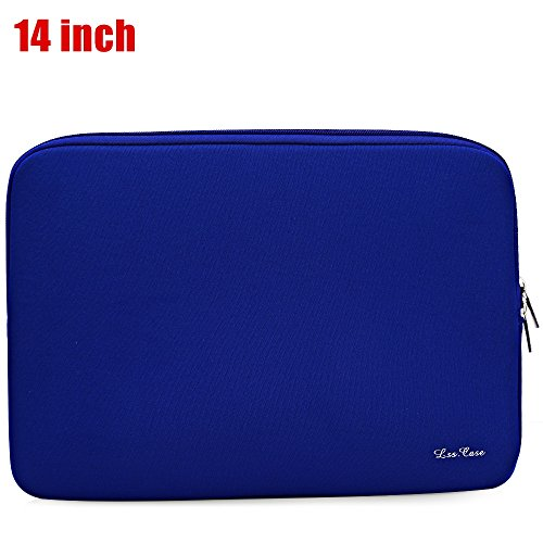 Korean Style Foam Zipper Sleeve LSS Computer Bag for MacBook Air Pro Retina AUS (SAPPHIRE - Water Place Shops Tower