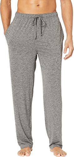Jockey Men's Cool-Sleep Sueded Jersey Pants Charcoal Heather Large ()