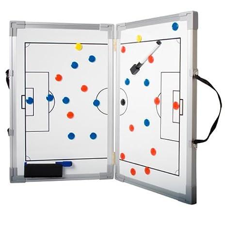 b+d abatible pizarra táctica de fútbol (45 x 60 cm): Amazon ...