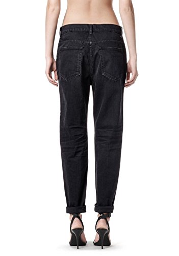 Alexander Wang Boy Fit Jeans For Women In Black Size 24